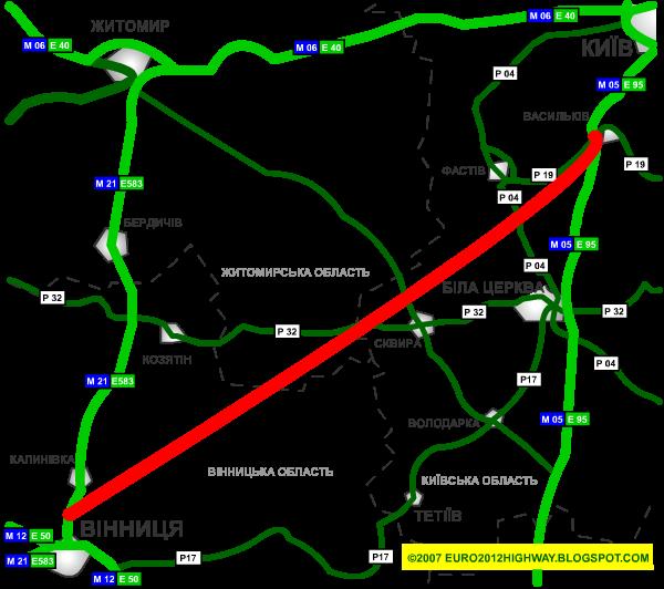 New Kyiv-Vinnytsya Highway