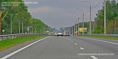 Автодорога М-06 Киев-Чоп 34 километр, населенный пункт Березовка