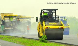 Строительство скоростных дорог в Украине