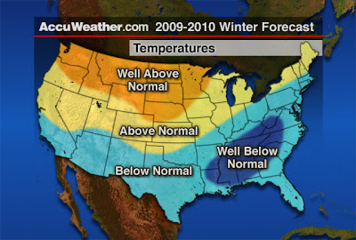JOYFUL REFLECTIONS: Winter Weather Forecast 2009-2010