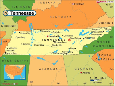 Tennessee Time Zone Map  Car Interior Design