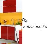 A cozinha que me serviu de inspiração