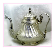 A Beautiful sterling silver victorian teapot.