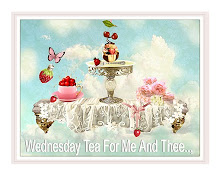 'Wednesday Tea For Me And Thee', blog tea party button..,