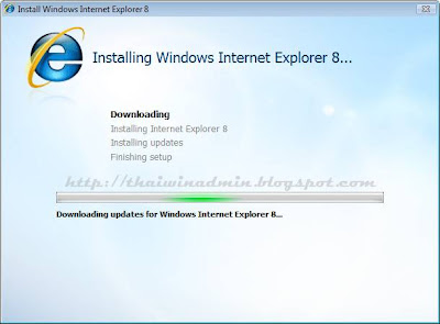 Internet Explorer 8 Installing_IE8