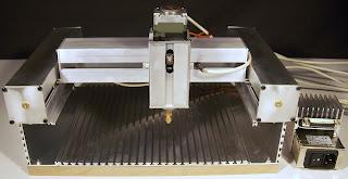 Pantografo laser per legno