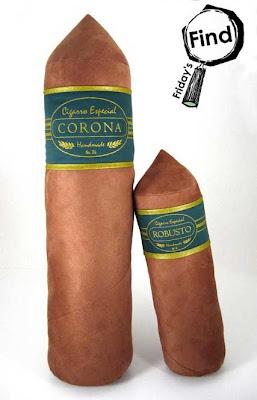 cigar pillows