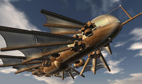 Night Hawk development thread. Airship-Brass-Davintus04
