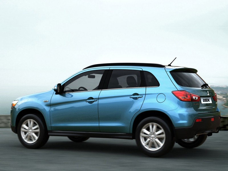 version of the Japanese Mitsubishi RVR, which is slated to go on sale in