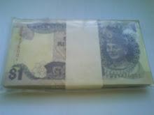 RM1 SIRI 6 JAFFAR HUSSIN (UNC)