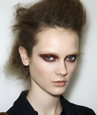 Makeup fall 2009 Prada runway