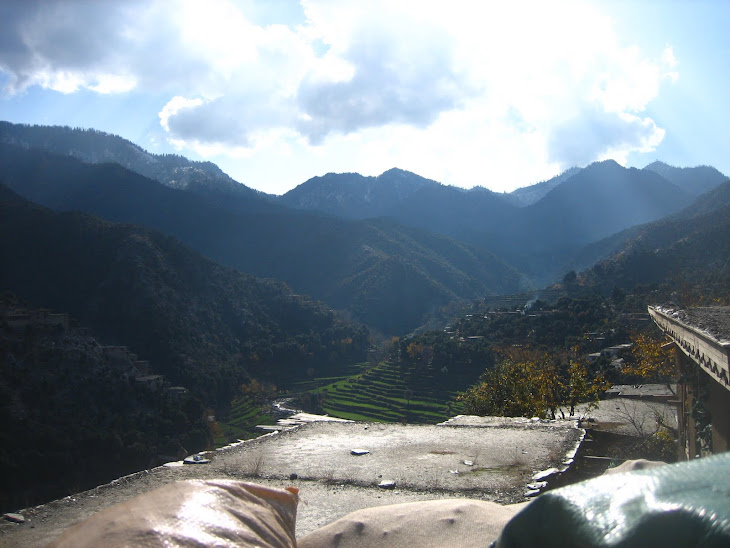 Korengal Valley as seen from Firebase Vimoto