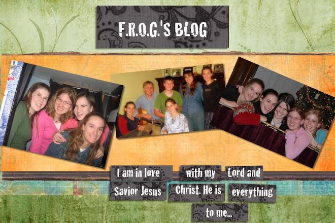F.R.O.G.'s Blog