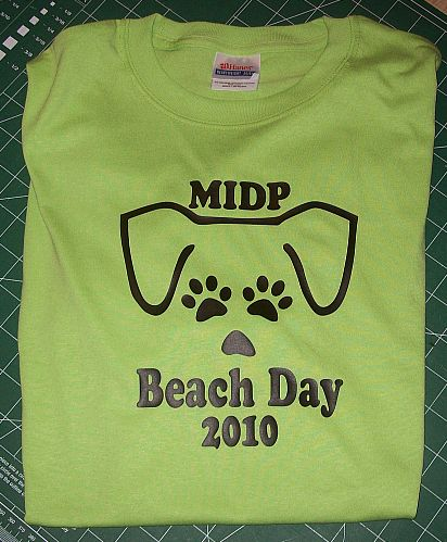 Beach Day 2010 T Shirt