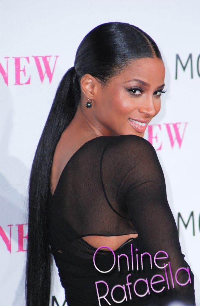ciara hairstyles with bangs. Fall ciara pony tail hairstyle