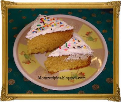 Moms recipies vanilla cake cake1g forumfinder Images