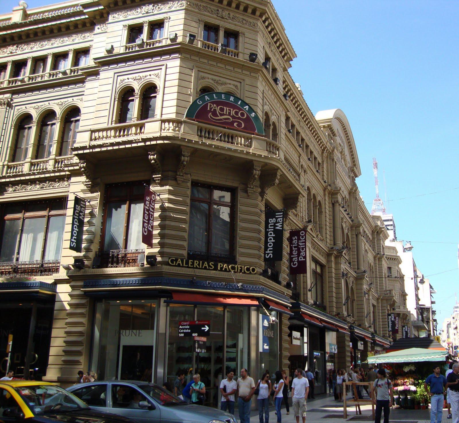 Galerias Pacifico: Fi's Adventures In South America: La Galeria Pacifico