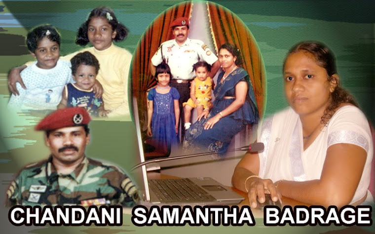chandani samantha badrage