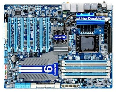 Gigabyte Motherboard GA-X58A-UD9 2010