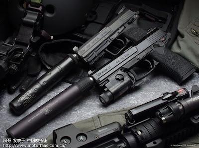 Foto Pistol Tercanggih Dunia