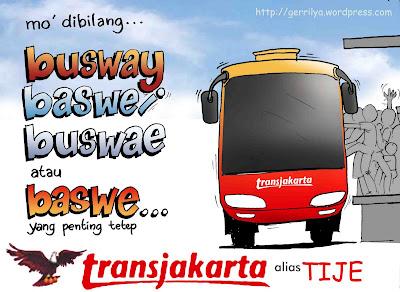 Tips Gokil Saat Naik Busway