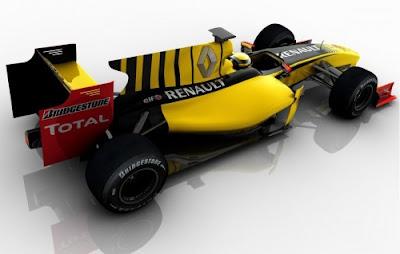 Foto Mobil F1 Renault R30