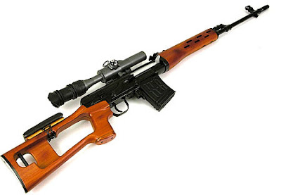 Sniper SVD Dragunov Point Blank