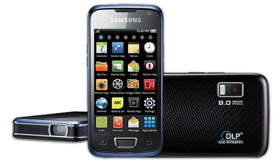 Fitur Ponsel Android Samsung Galaxy Beam 2010 :