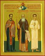 Sf. Mc Ilarion, Sf. Cuvios Daniil, Sf. Valeriu Mărturisitorul