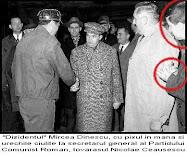 În prim-plan tov. M. Dinescu luând notiţe