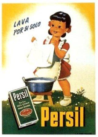 Anuncio. 1950 Persil