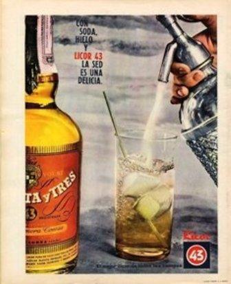 Anuncio. 1965 Licor 43