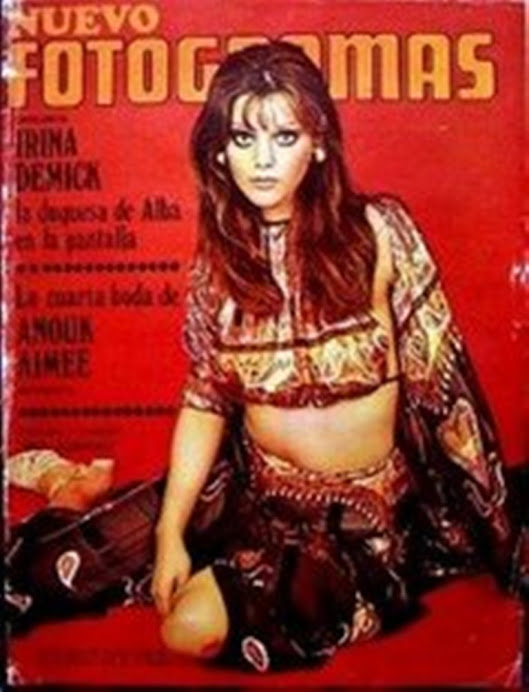 Fotogramas. Años 70. Tina Aumont