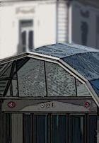 Acceso a la estación de Cercanías de Sol.