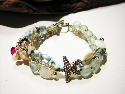 custom larimar bracelet by laurastaley.etsy.com