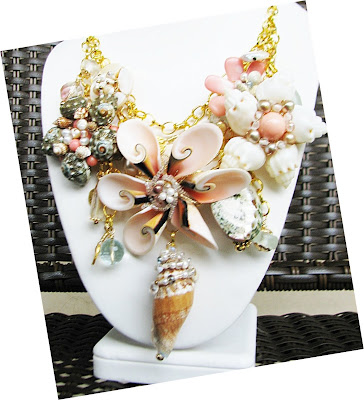 custom orders for sea shell necklace laurastaley.etsy.com