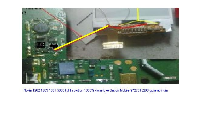 Nokia 1202 Light Problem http://sabbirnokia.blogspot.com/2011/01/nokia-1202120361615030-light-solution.html