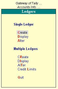 Ledgers Master