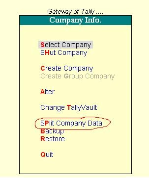 how to create new company in tally with opening balance