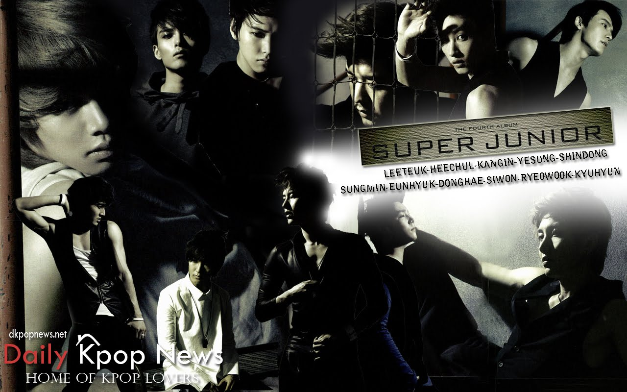 SUPER JUNIOR BONAMANA REPACKAGED WALLPAPER  Daily K Pop Wallpapers