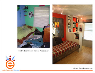 room makeover, teen room, teen, teen bedroom, makeover by Aaron Christensen