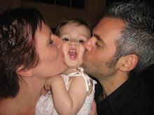 """Diego """"el gordo"""" Brienza y su familia"""