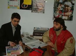 مع الفنان عادل سلطان
