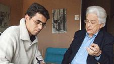 مع المفكر محمد أركون