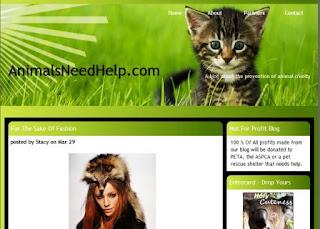 Banner of Animals need help Entrecard member mdro.blogspo
