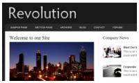 Revolution Pro Business Wordpress Theme mdro.blogspot.com