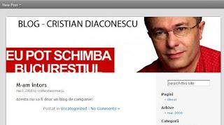 Blogul lui Cristian Diaconescu mdro.blogspot.com