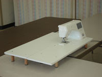 how to make extension table for sewing machine