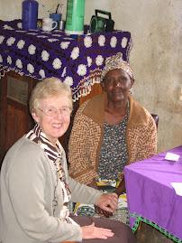 Kyambeke Relief Society President