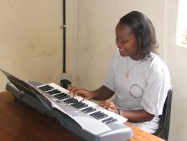 Keyboard Student Elaine